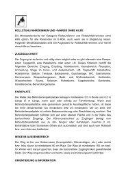 ROLLSTUHLFAHRERINNEN UND -FAHRER OHNE HILFE Die ...