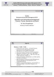 Handout - Project Consult Unternehmensberatung Dr. Ulrich ...