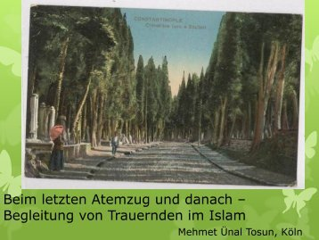 Begleitung von Trauernden im Islam - Evangelische Akademie ...