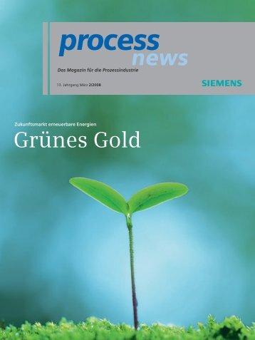 Xxxxxxxxxxx Xxxxxx Grünes Gold - Siemens