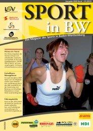 Sport in bw Nr. 01/10 - Badischer Sportbund Nord ev