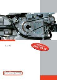 Datenblatt 43W Motor - Farymann Diesel