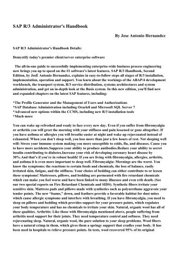 Sap R 3 Handbook Pdf