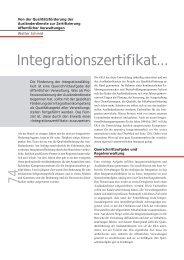 Integrationszertifikat... - terra cognita