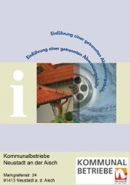 Die getrennte Abwassergebühr - Kommunalbetriebe Neustadt a. d. ...