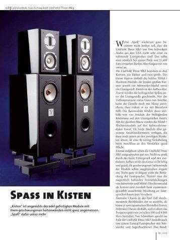 Spass in Kisten - IBEX Audio