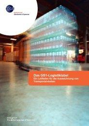 Das GS1-Logistiklabel