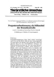 Tierärztliche Umschau - Biolab München