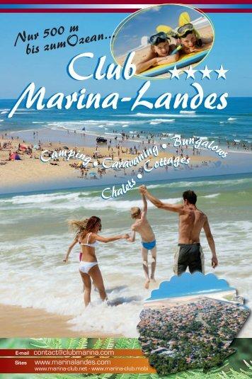 VERMIETUNGEN PRO WOCHE (in EURO) - Club Marina Landes