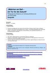 Unterstufe Geografie (PDF, 5 Seiten) - Missio
