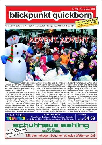 Nr. 449 – November 2006-2 - Blickpunkt Quickborn