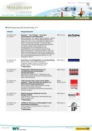 Rahmenprogramm Donnerstag, 9.7. - Messe Stuttgart