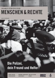 Ausgabe Februar / März 2010 - Amnesty Erlangen