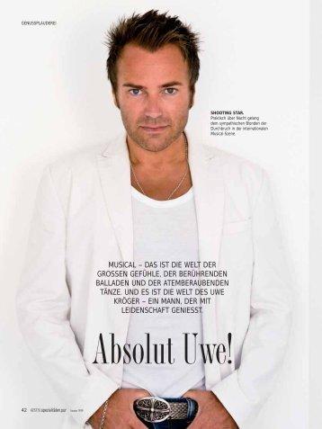 Genuss Magazin Sommer 2010 - Uwe Kröger