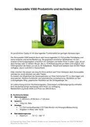 Sonocaddie V300 Produktinfo und technische Daten
