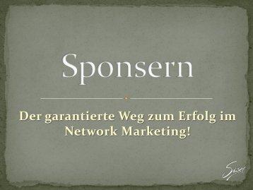 Der garantierte Weg zum Erfolg im Network Marketing! - bei Tremesco!