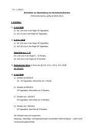 Richtlinien zur Bearbeitung von Verkehrsstrafsachen (Stand 08.06 ...
