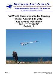 FAI World Championship for Soaring Model Aircraft F3F ... - F3X.no