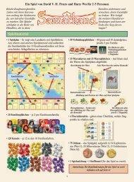 Samarkand Spielregel - Capricorns Spielegilde Chur