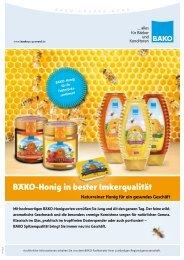 BÄKO-Honig in bester Imkerqualität - BÄKO Gruppe Nord