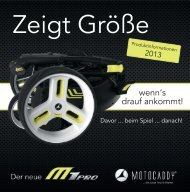 Motocaddy Katalog 2013
