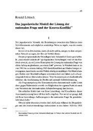 Ronald Lötzsch Das jugoslawische Modell der ... - Die Sozietät