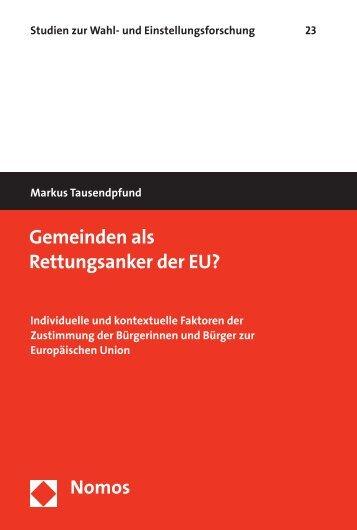 Gemeinden als Rettungsanker der EU? - Nomos
