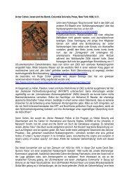 Avner Cohen, Israel and the Bomb, Columbia ... - Ludwig Watzal