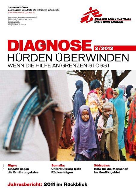 Diagnose 2/2012: Hürden überwinden - Ärzte ohne Grenzen