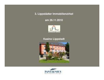 Vortrag 3. Lippstädter Immobilienzirkel. Lippstädter ... - Pantaenius