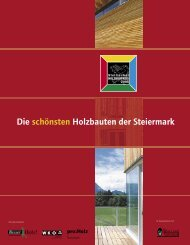 Dokumentation PDF-Download (ca. 3,5 MB) - Steirischer Holzbaupreis