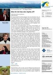 10. April 2011 - Alles für die Katz oder slightly off? - Distrikt 2000