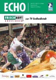 TV Großwallstadt - FRISCH AUF! Göppingen