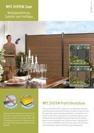System-WPC: Montage, Pflege, Lagerung und Bearbeitung - Mesem