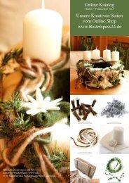 Online Katalog Unsere Kreativen Seiten vom Online Shop www.Bastelspass24.de