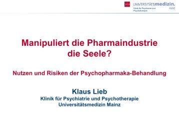 Prof. Dr. Klaus Lieb
