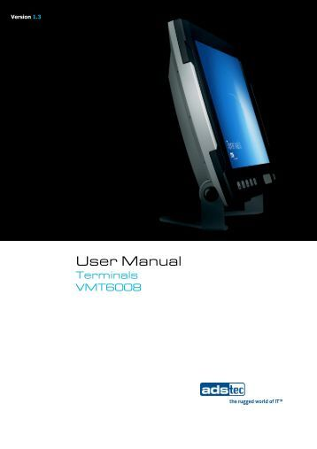 VMT6008 User Manual EN V1.3 - Autic system AS