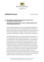 Werbebroschüre von Scientology - Polizei Baden-Württemberg