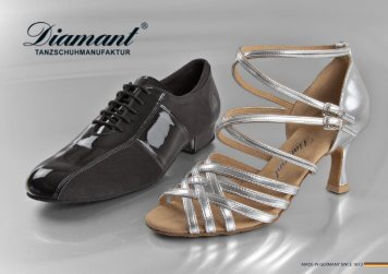 Katalog ansehen (PDF) - Diamant Dance Shoes