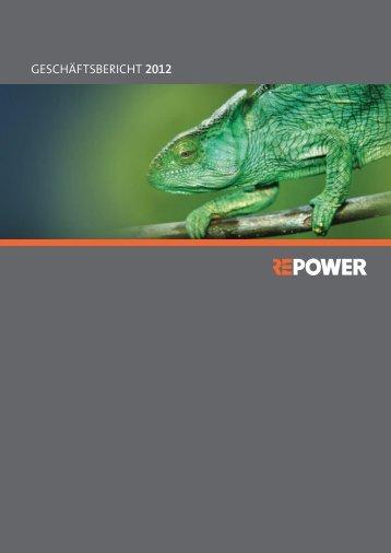 REPOWER GRuPPE - online report 2012 - Repower