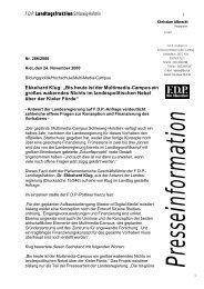 """Ekkehard Klug: """"Bis heute ist der Multimedia-Campus ein großes ..."""