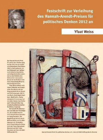 Festschrift 2012 - Heinrich Böll Stiftung Bremen