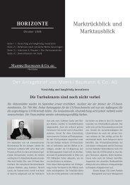 Marktrückblick und Marktausblick - S-MediaComm GmbH