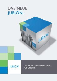 Produkt-Broschüre (PDF-Download ca. 4 MB) - Jurion