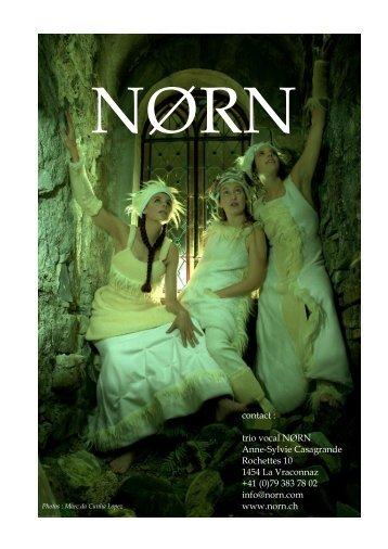 vous pouvez télécharger un dossier complet sur Norn et différents ...