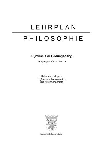 Philosophie - Die Lernstube