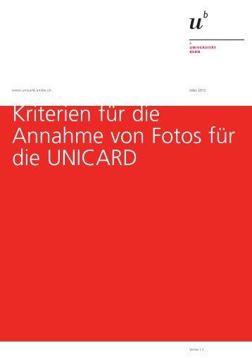 Fotokriterien - UNICARD