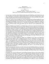 Buddhismus - ein Weg der Geistesschulung - DhammaTalks.net