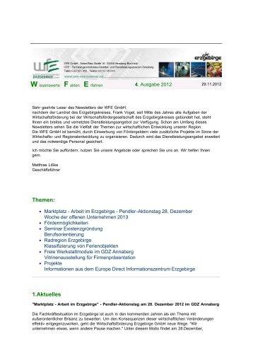 Ausgabe 04/2012 (pdf 197.4 kB) - Wirtschaftsförderung Erzgebirge ...