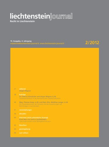 2 /2012 - Liechtenstein-Journal